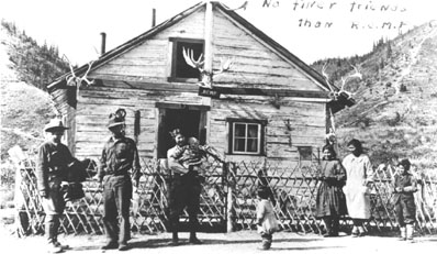 RCMP Post, New Rampart House