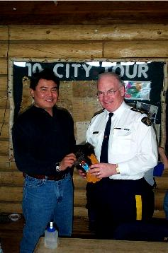 Chief Linklater and Commissioner Murray